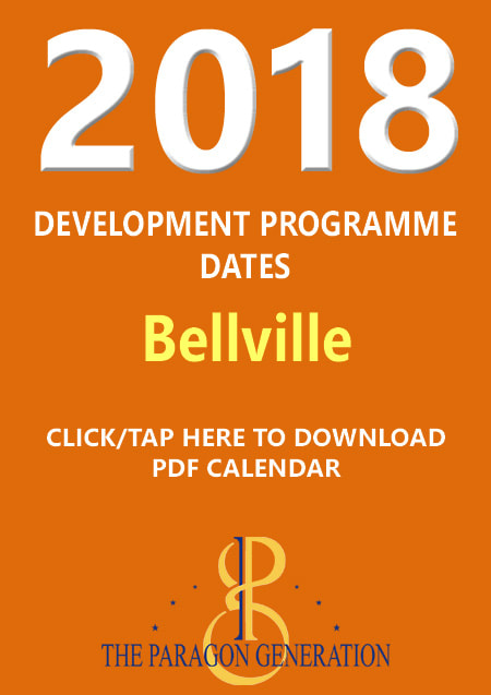 2018 DEVELOPMENT PROGRAMME DATES